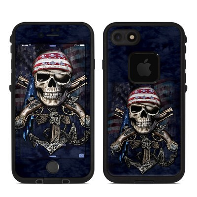 Lifeproof iPhone 7 Fre Case Skin - Dead Anchor