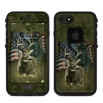 Lifeproof iPhone 7 Fre Case Skin - Deer Flag