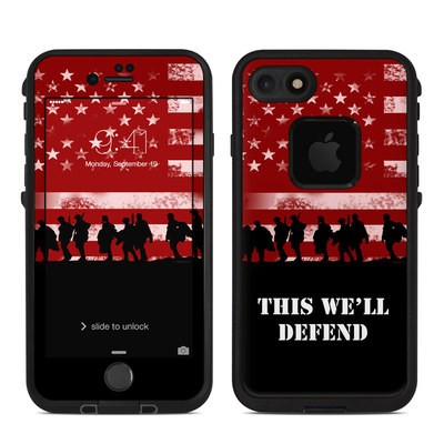Lifeproof iPhone 7 Fre Case Skin - Defend