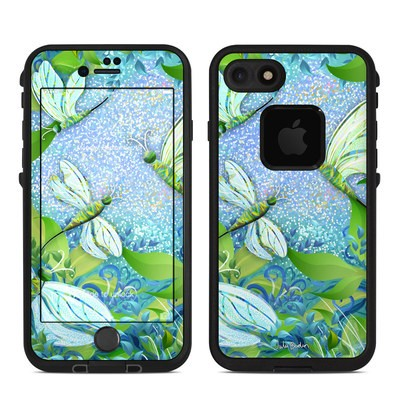 Lifeproof iPhone 7 Fre Case Skin - Dragonfly Fantasy