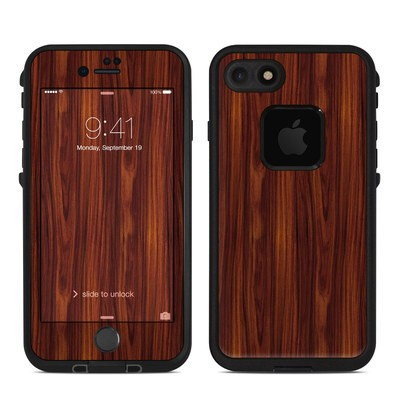 Lifeproof iPhone 7 Fre Case Skin - Dark Rosewood