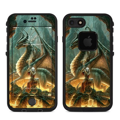 Lifeproof iPhone 7 Fre Case Skin - Dragon Mage