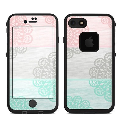 Lifeproof iPhone 7 Fre Case Skin - Doily