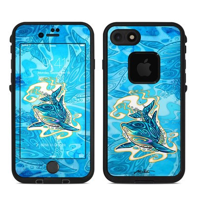 Lifeproof iPhone 7 Fre Case Skin - Dolphin Daydream