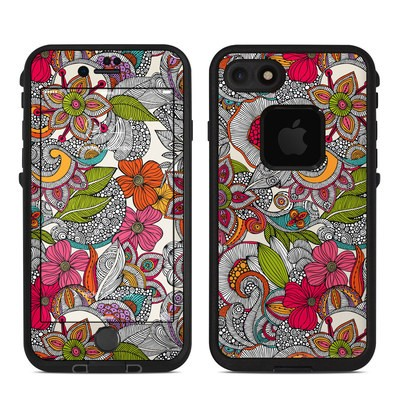 Lifeproof iPhone 7 Fre Case Skin - Doodles Color