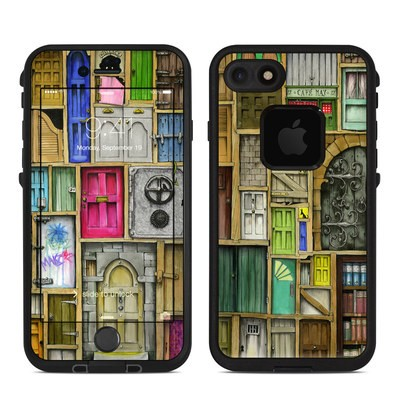 Lifeproof iPhone 7 Fre Case Skin - Doors Closed
