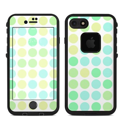 Lifeproof iPhone 7 Fre Case Skin - Big Dots Mint