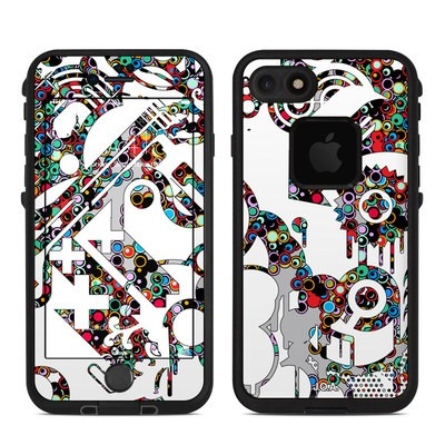 Lifeproof iPhone 7 Fre Case Skin - Dots