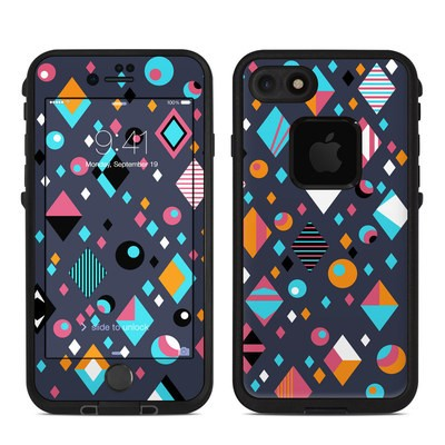 Lifeproof iPhone 7 Fre Case Skin - Deep Lagoon