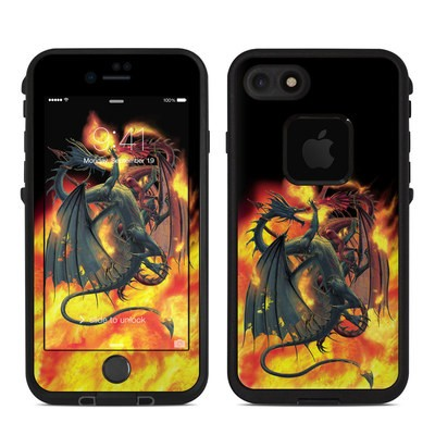 Lifeproof iPhone 7 Fre Case Skin - Dragon Wars