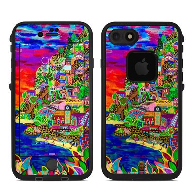 Lifeproof iPhone 7-8 Fre Case Skin - Dreaming In Italian