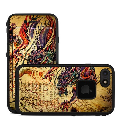 Lifeproof iPhone 7 Fre Case Skin - Dragon Legend
