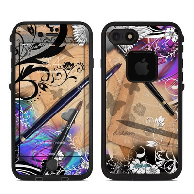 Lifeproof iPhone 7 Fre Case Skin - Dream Flowers
