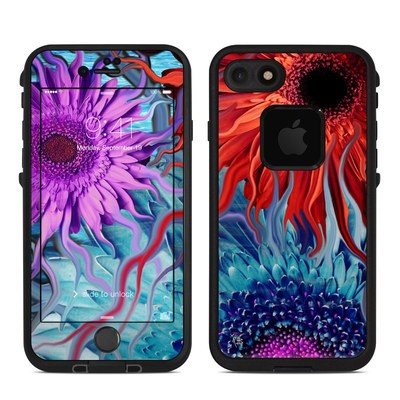 Lifeproof iPhone 7 Fre Case Skin - Deep Water Daisy Dance