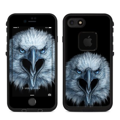 Lifeproof iPhone 7-8 Fre Case Skin - Eagle Face