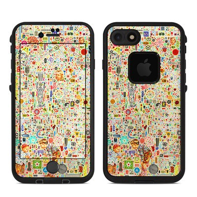 Lifeproof iPhone 7 Fre Case Skin - Effloresce