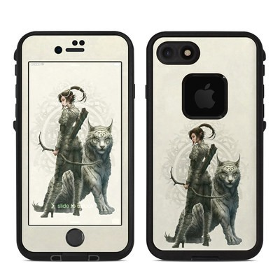 Lifeproof iPhone 7 Fre Case Skin - Half Elf Girl