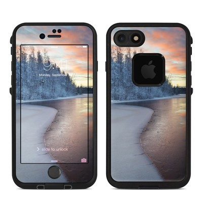 Lifeproof iPhone 7-8 Fre Case Skin - Evening Snow