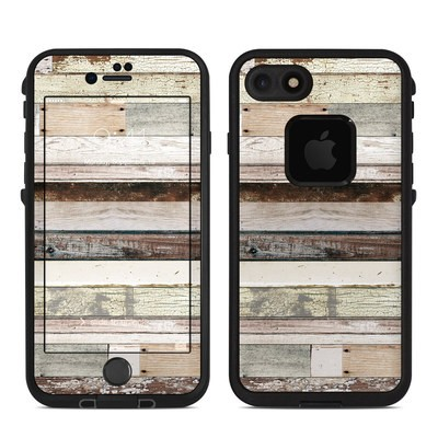 Lifeproof iPhone 7 Fre Case Skin - Eclectic Wood