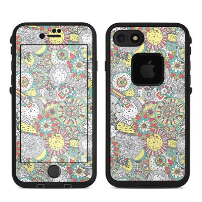 Lifeproof iPhone 7 Fre Case Skin - Faded Floral