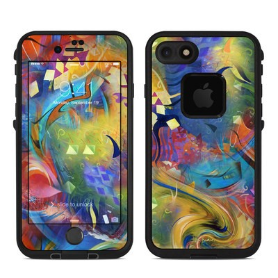 Lifeproof iPhone 7 Fre Case Skin - Fascination