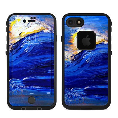 Lifeproof iPhone 7 Fre Case Skin - Feeling Blue