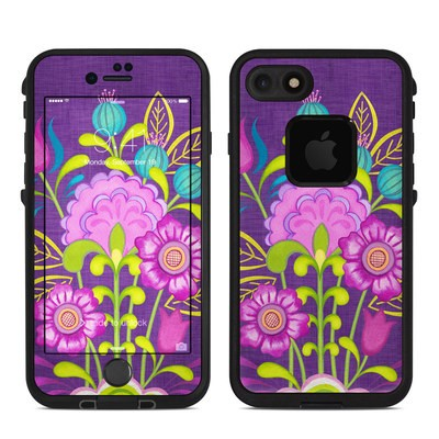 Lifeproof iPhone 7 Fre Case Skin - Floral Bouquet