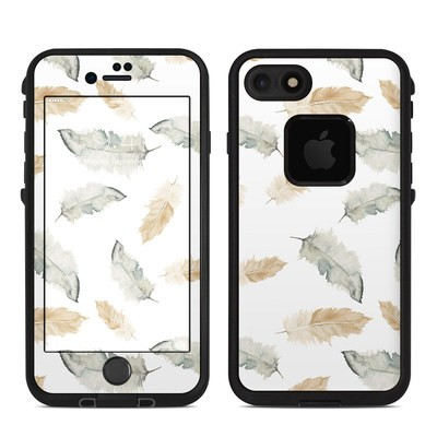 Lifeproof iPhone 7 Fre Case Skin - Feathers