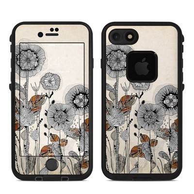 Lifeproof iPhone 7 Fre Case Skin - Four Flowers