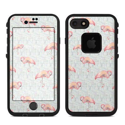 Lifeproof iPhone 7 Fre Case Skin - Flamingo Mosaic