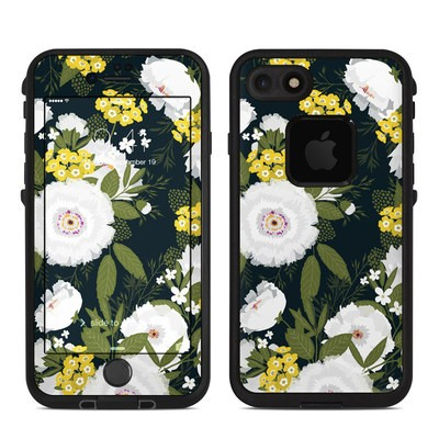 Lifeproof iPhone 7-8 Fre Case Skin - Fleurette Night
