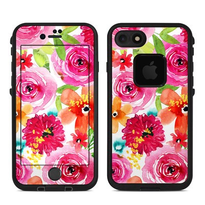 Lifeproof iPhone 7-8 Fre Case Skin - Floral Pop