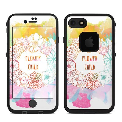 Lifeproof iPhone 7 Fre Case Skin - Flower Child