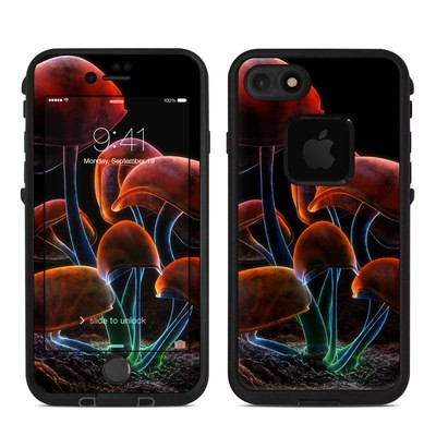 Lifeproof iPhone 7-8 Fre Case Skin - Fluorescence Rainbow