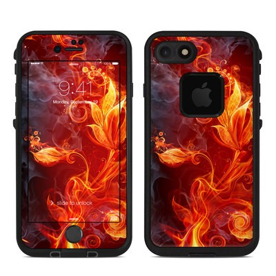 Lifeproof iPhone 7 Fre Case Skin - Flower Of Fire
