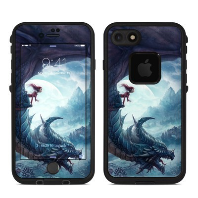 Lifeproof iPhone 7 Fre Case Skin - Flying Dragon