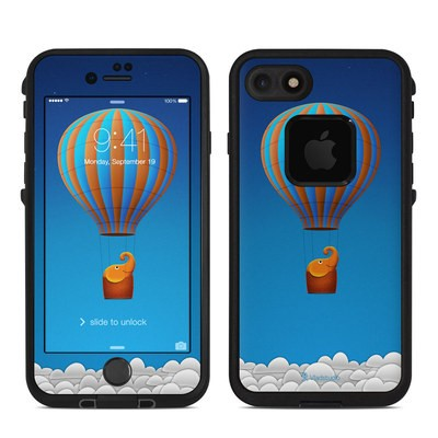 Lifeproof iPhone 7 Fre Case Skin - Flying Elephant