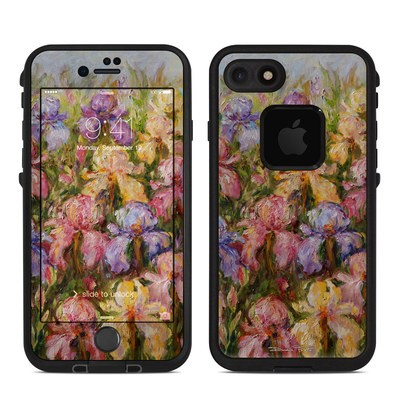 Lifeproof iPhone 7 Fre Case Skin - Field Of Irises