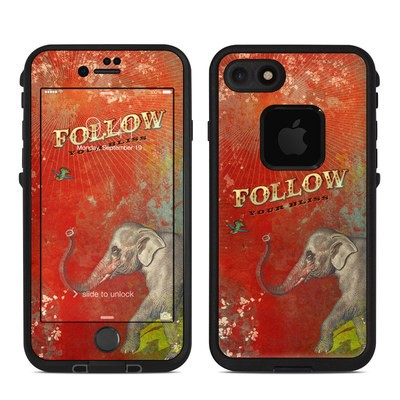 Lifeproof iPhone 7 Fre Case Skin - Follow Your Bliss