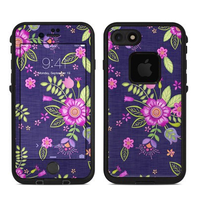 Lifeproof iPhone 7 Fre Case Skin - Folk Floral