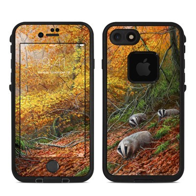 Lifeproof iPhone 7 Fre Case Skin - Forest Gold