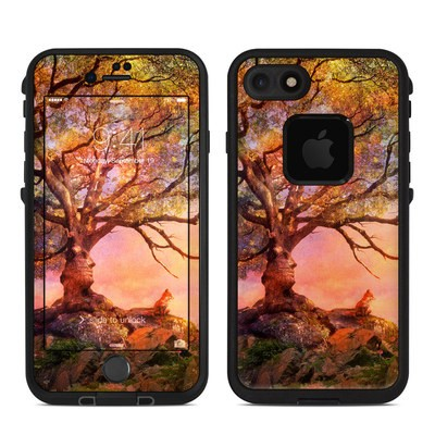 Lifeproof iPhone 7 Fre Case Skin - Fox Sunset