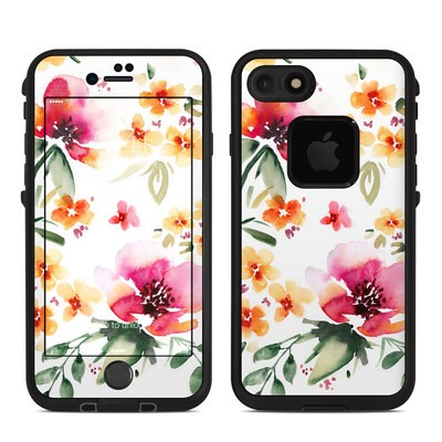 Lifeproof iPhone 7 Fre Case Skin - Fresh Flowers