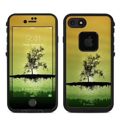 Lifeproof iPhone 7 Fre Case Skin - Flying Tree Amber