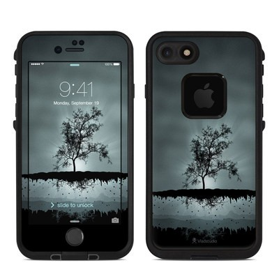 Lifeproof iPhone 7 Fre Case Skin - Flying Tree Black