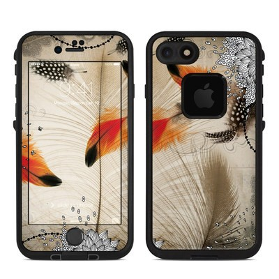 Lifeproof iPhone 7 Fre Case Skin - Feather Dance