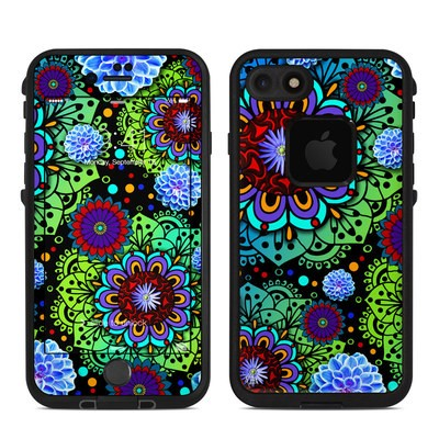 Lifeproof iPhone 7 Fre Case Skin - Funky Floratopia
