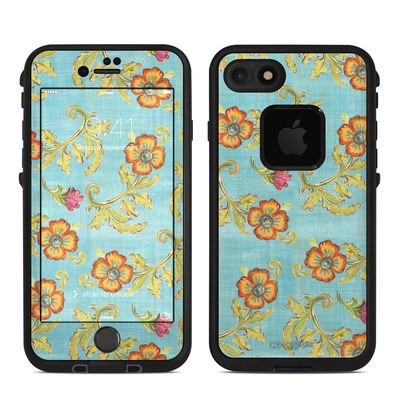 Lifeproof iPhone 7 Fre Case Skin - Garden Jewel