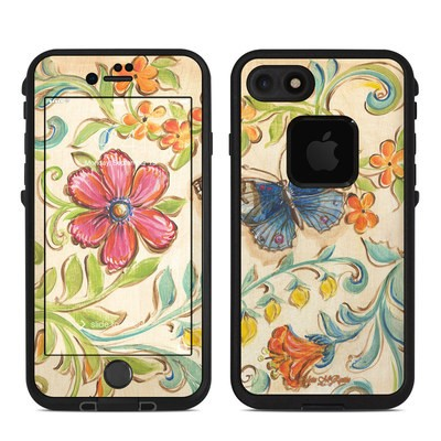 Lifeproof iPhone 7 Fre Case Skin - Garden Scroll