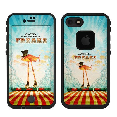 Lifeproof iPhone 7 Fre Case Skin - God Bless The Freaks